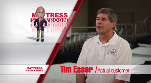 Tim Esser – Mattress Showroom Testimonial